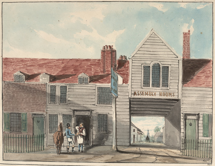 Old Roman Eagle, Church Street, Deptford, 1841